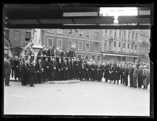 VE Day Service Reading May 1945