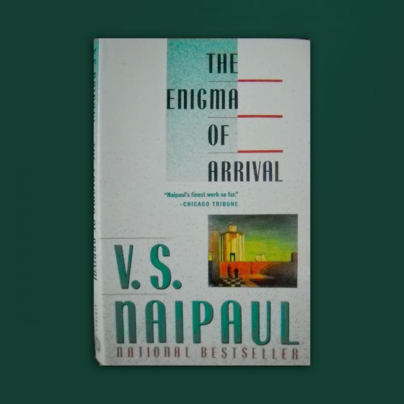 Naipaul's book cover