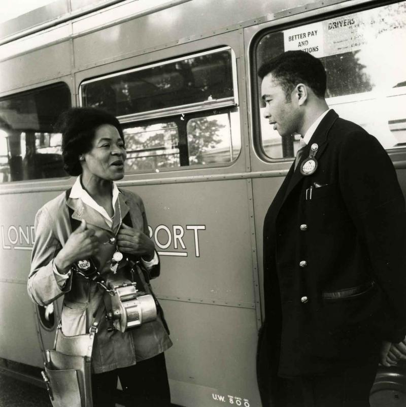 London Transport Bus Conductors © TfL from the London Transport Museum collection