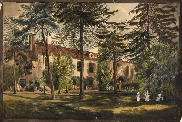 The Abbey School, Reading. c.1790