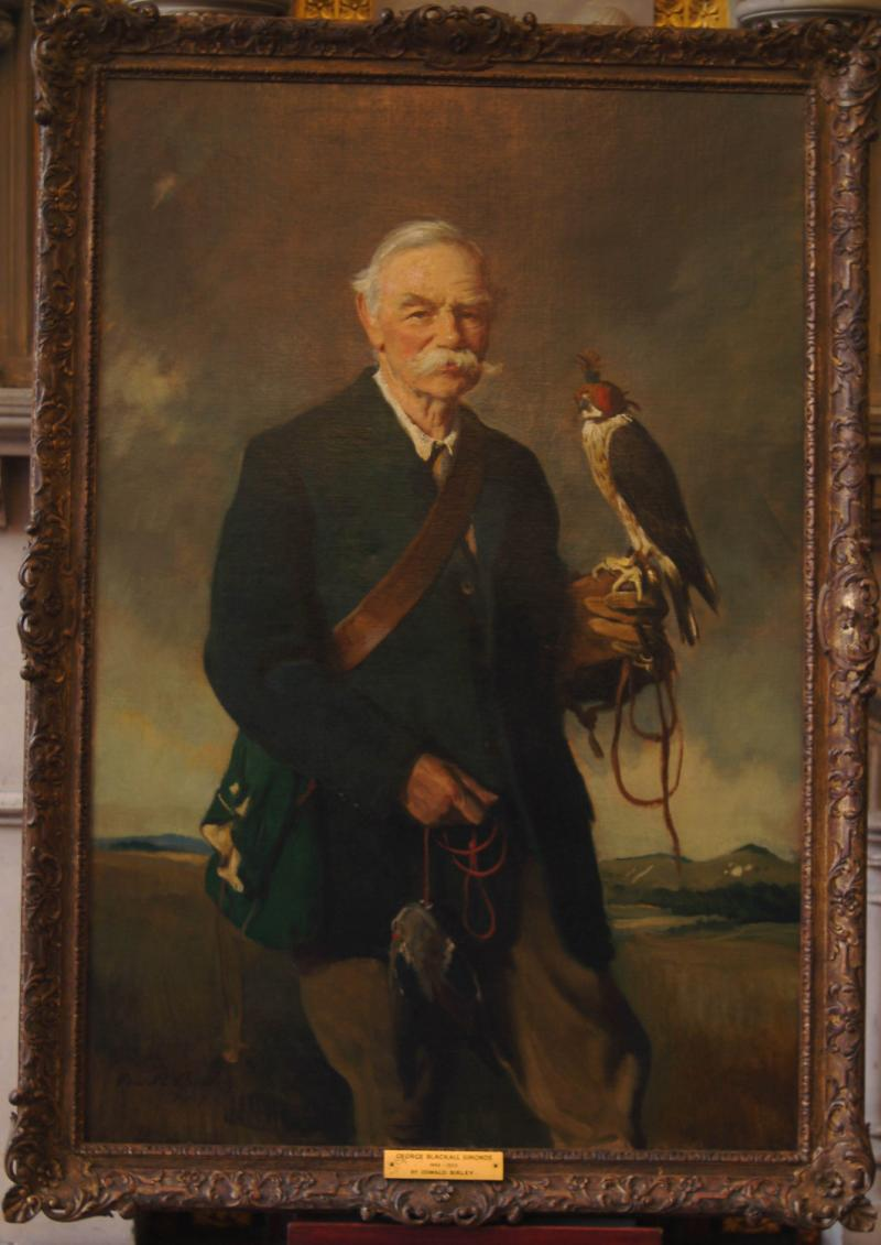 portrait of George Blackall Simonds