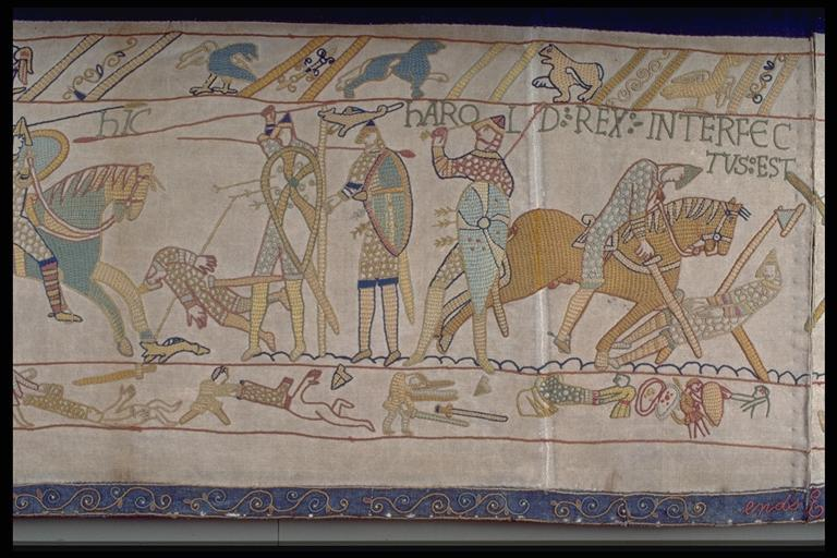 Harold's-death-bayeux-tapestry