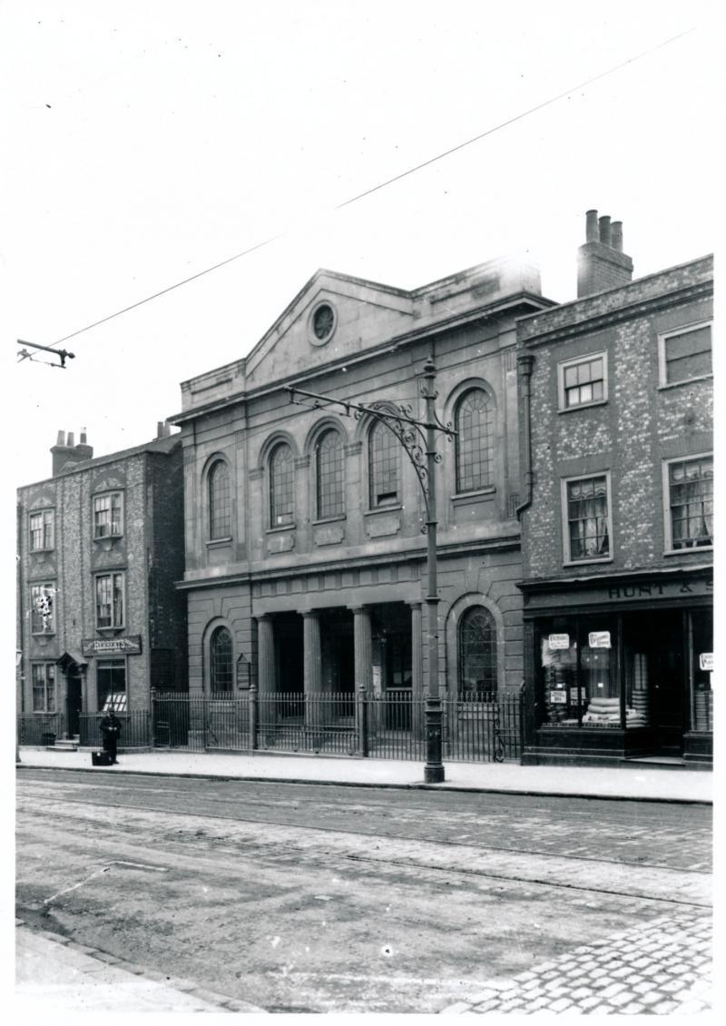 Congregational Chapel, Castle Street, Reading (Courtesy of Reading Library's Local Illustration Collection)
