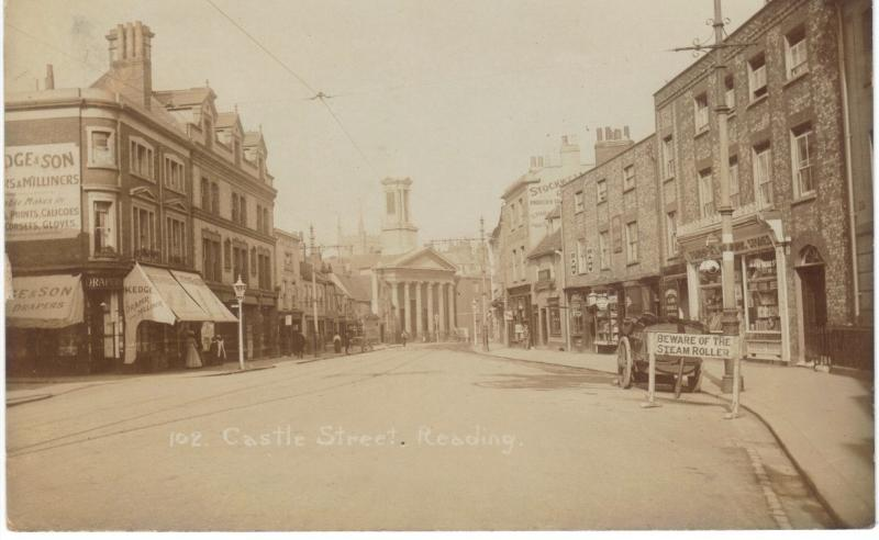 East end of Castle Street at junction with Boarded Lane c. 1900s (Sean Duggan)