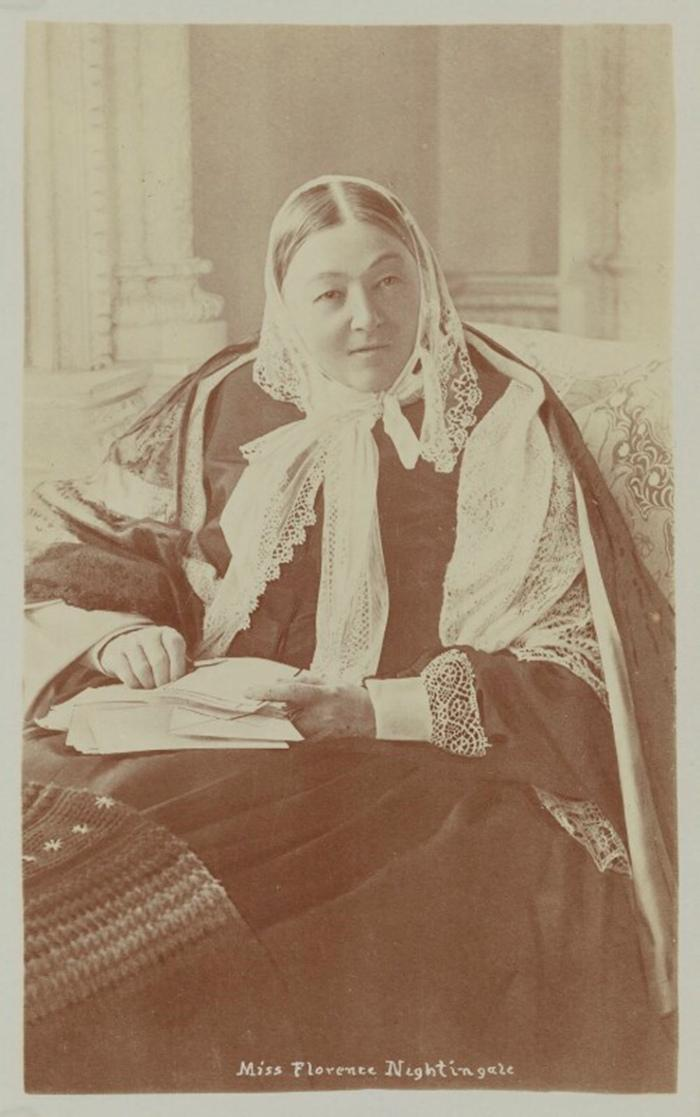 Florence Nightingale in 1891