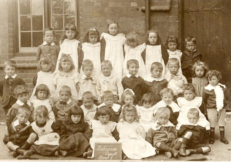 Victorian Katesgrove School infants children