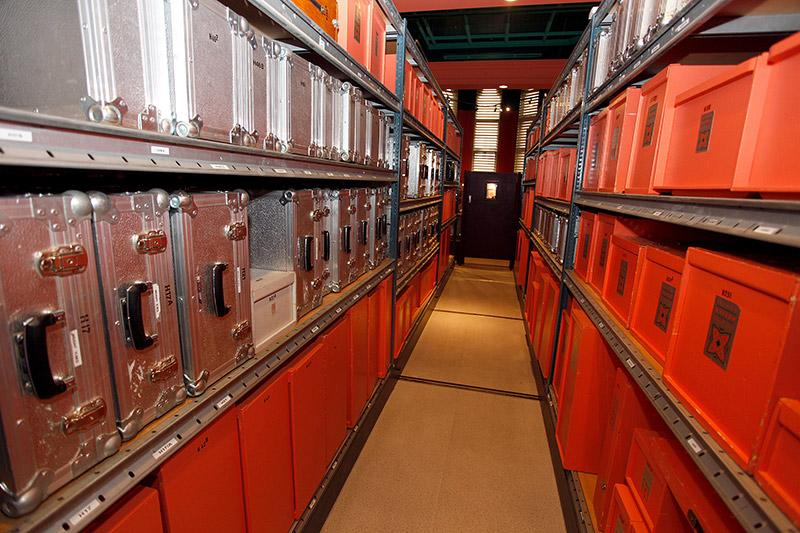 Just some of Reading Museum's 1500 loans boxes