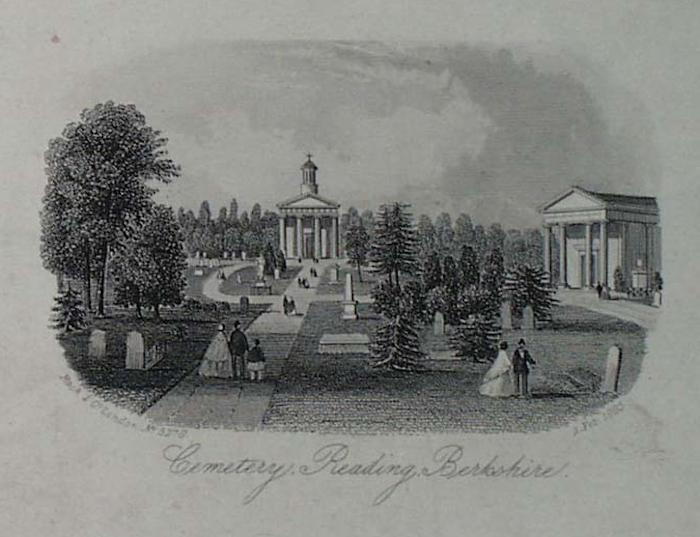 Reading Cemetery, Berkshire. Published by Rock and Co, London, 1865.