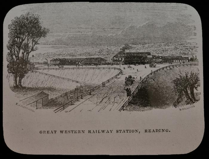 Reading's Great Western Station in 1842