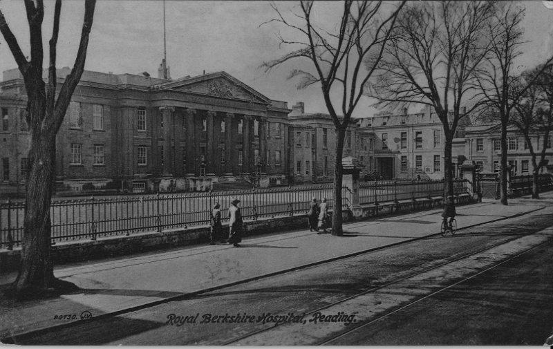 Royal Berkshire Hospital, Reading in about 1920