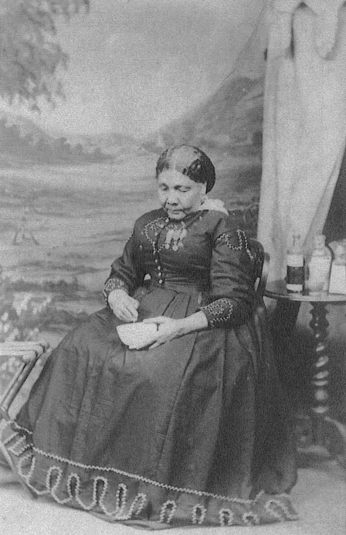 Mary Seacole in about 1873