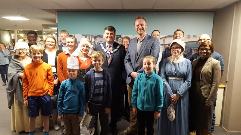 Story of Reading Gallery launch 28 May 2019