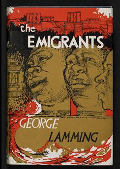 The Emigrants by George Lammings 1995, front cover
