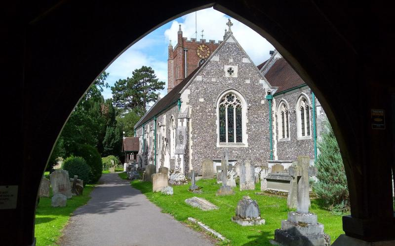 Wargrave church