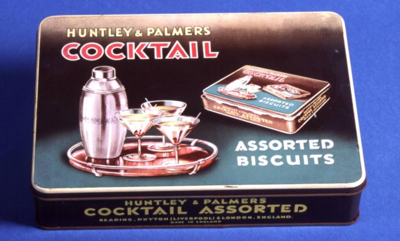 Huntley and Palmers Assorted Cocktail tin