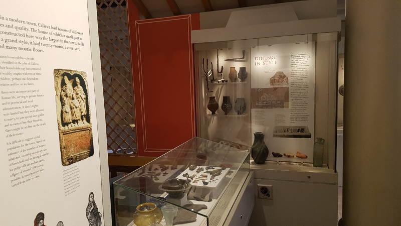 Silchester Gallery display