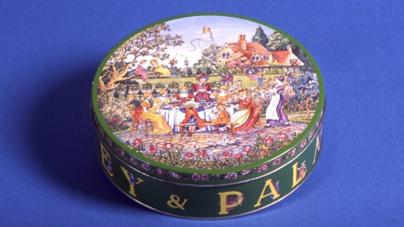 Huntley and Palmers Kate Greenaway tin
