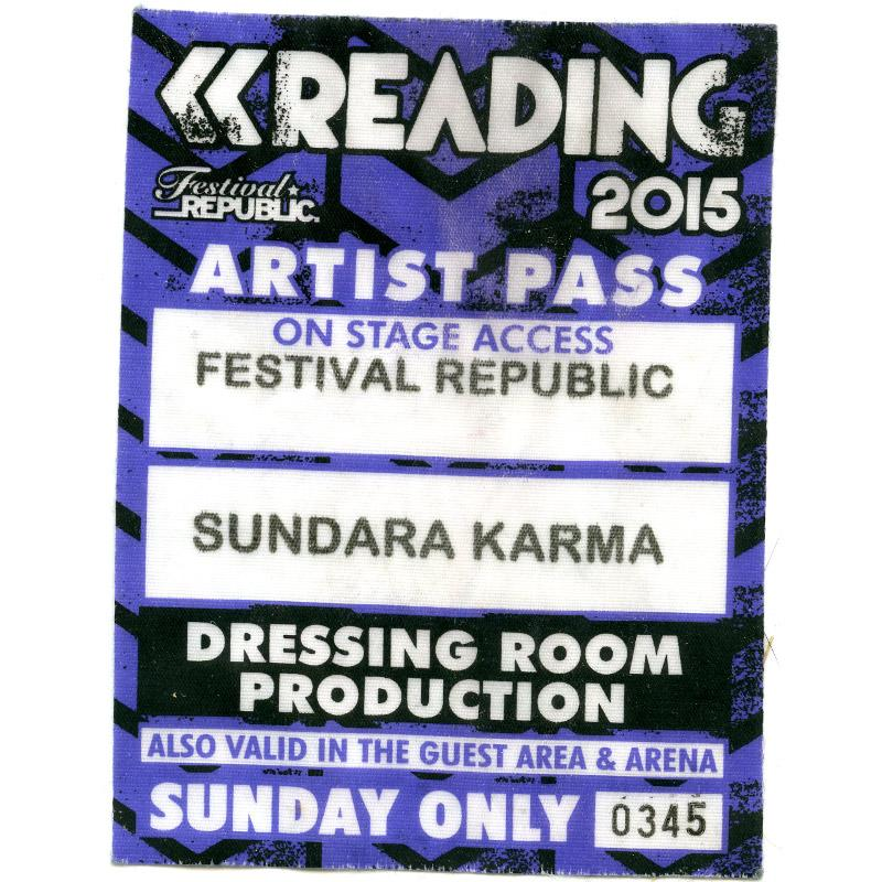 Artist's Pass for Reading Festival