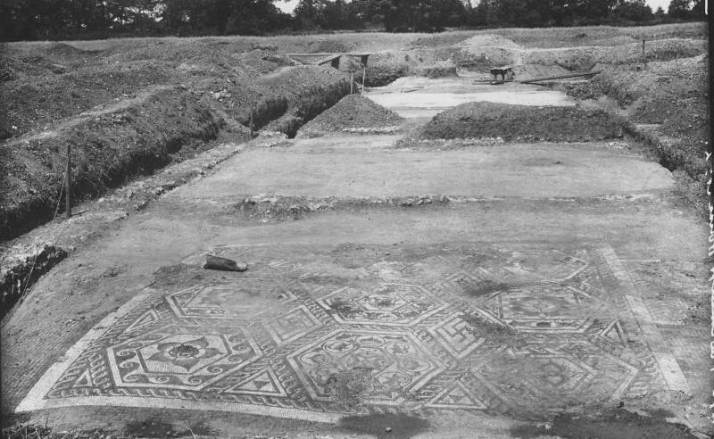 mosaic at silchester