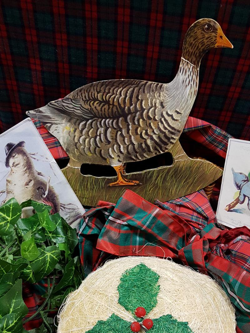 Victorian Christmas Goose