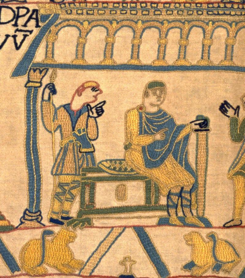William of Normandy, Duke of Normandy and future King of England.