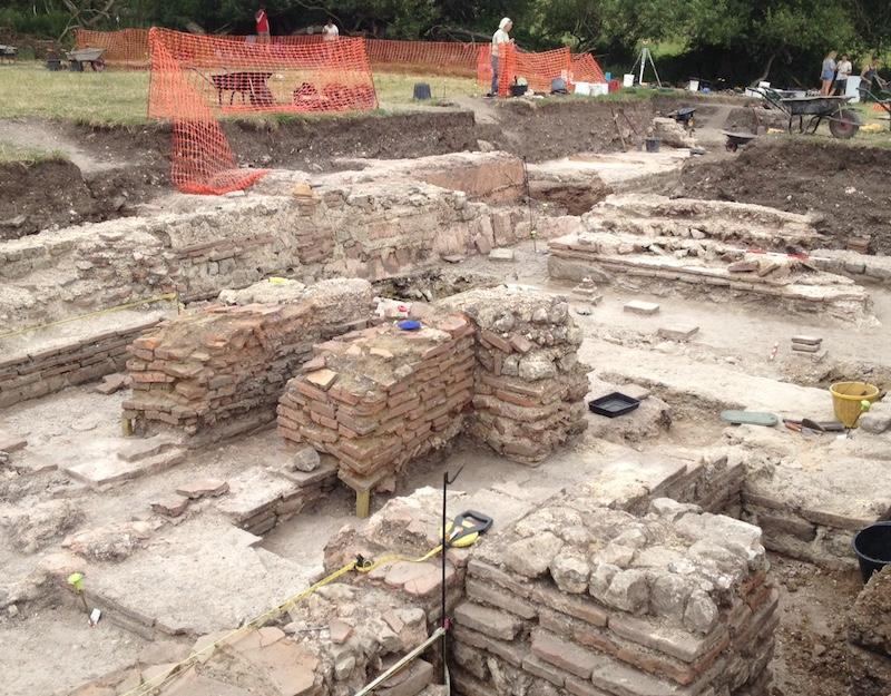 Modern archaeology excavations at Silchester
