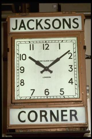 Image of the Jacksons clock.