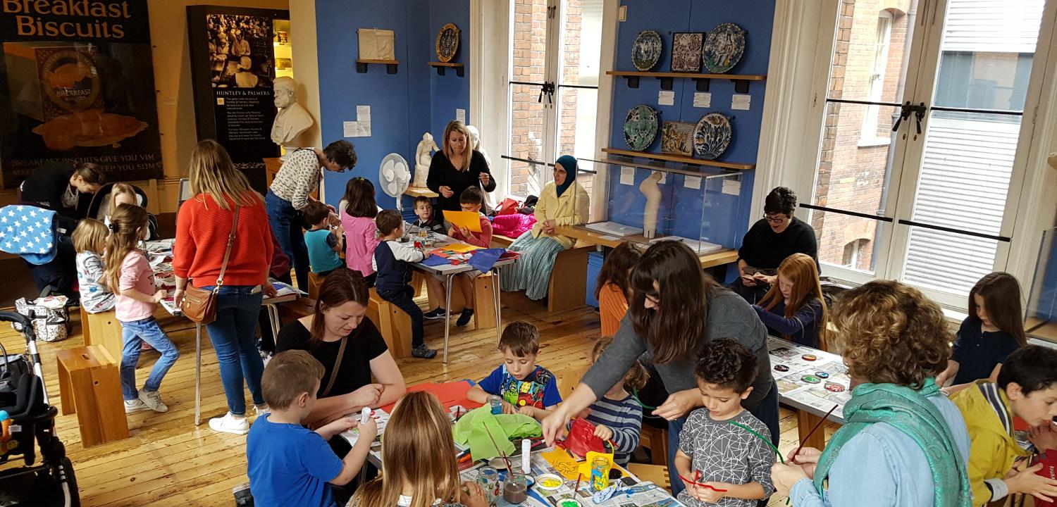 Children's Activities at Reading Museum