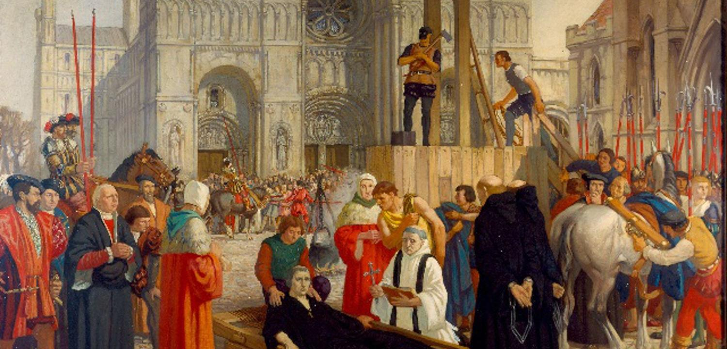 Abbot Hugh Faringdon's Execution