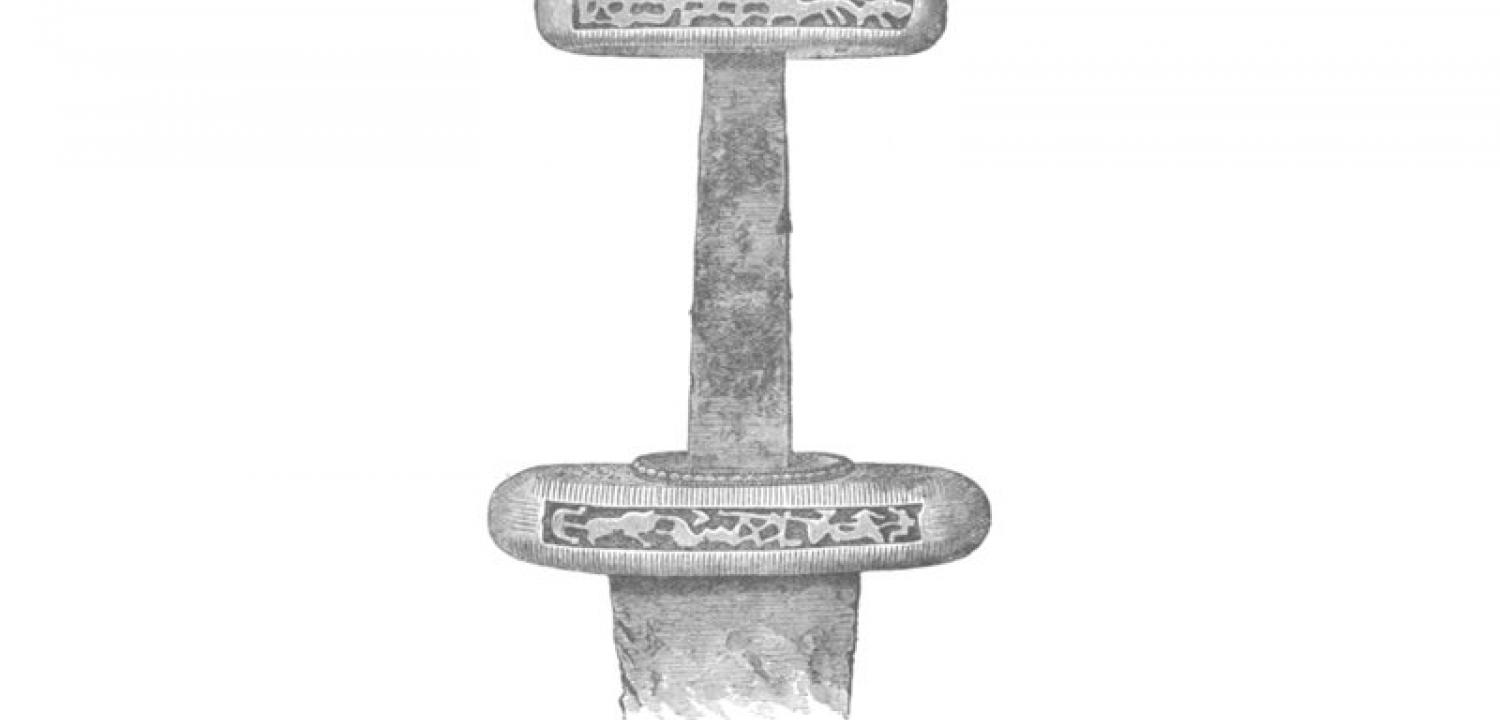 Viking sword found at Reading in 1831