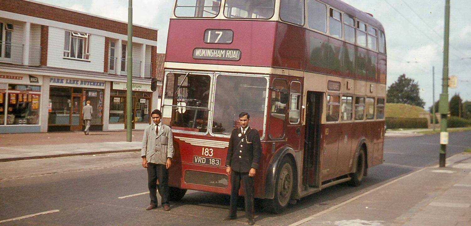 Wokingham Road Trolleybus