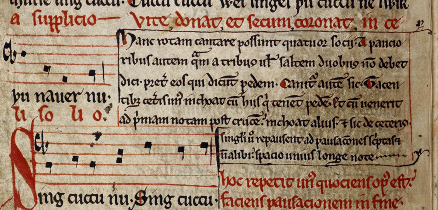Manuscript of Sumer is Icumen In