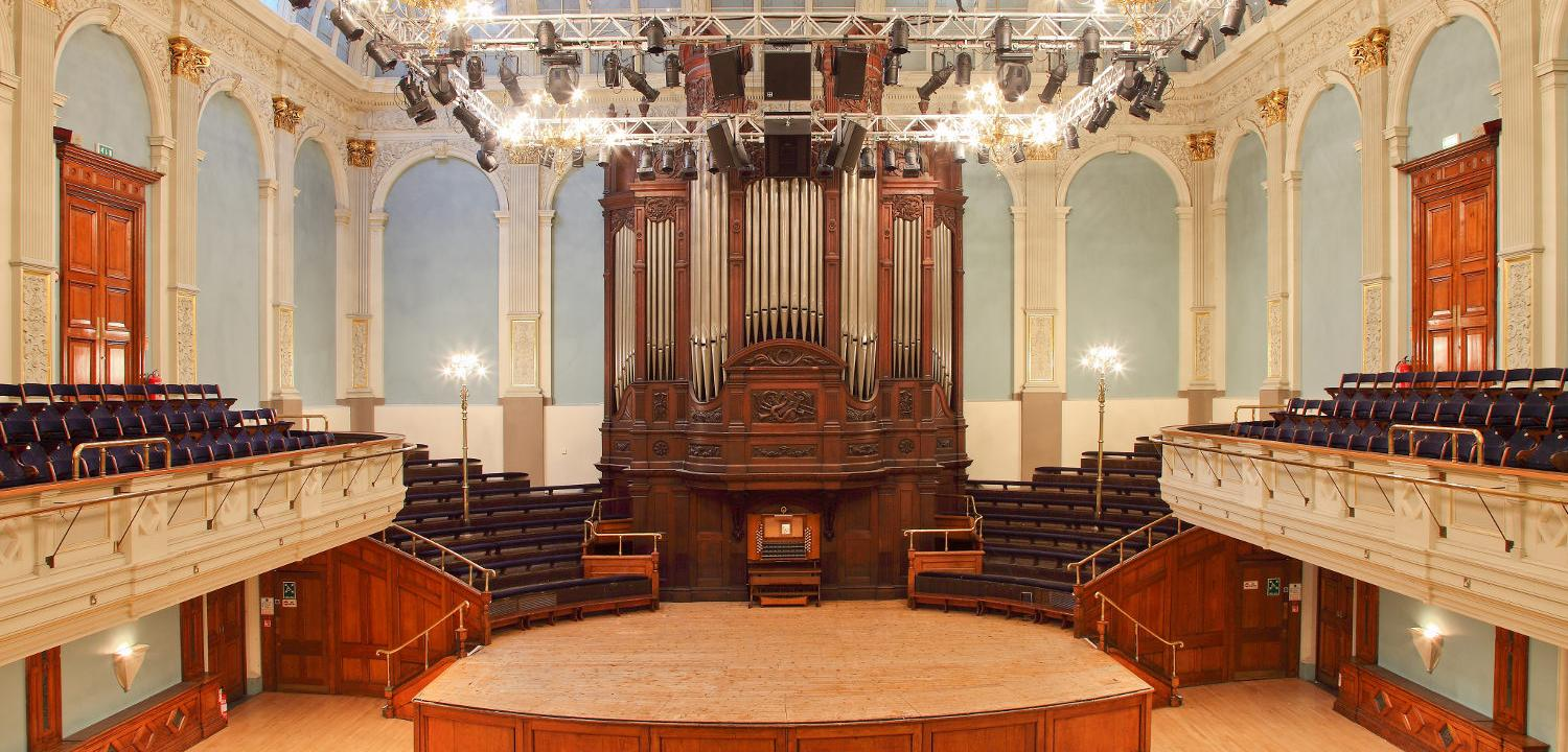 Concert Hall and Father Willis Organ
