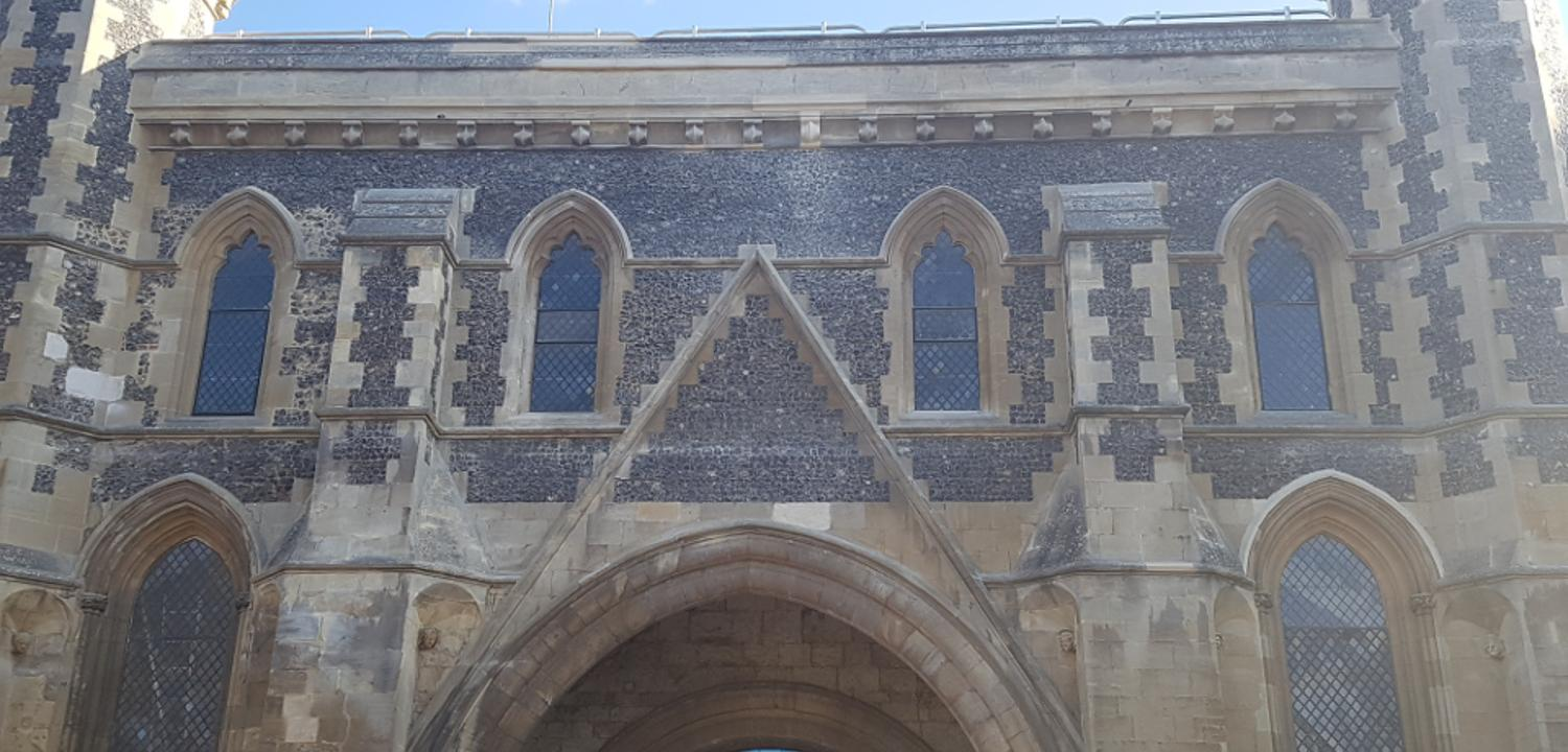 Exterior of the Abbey Gateway