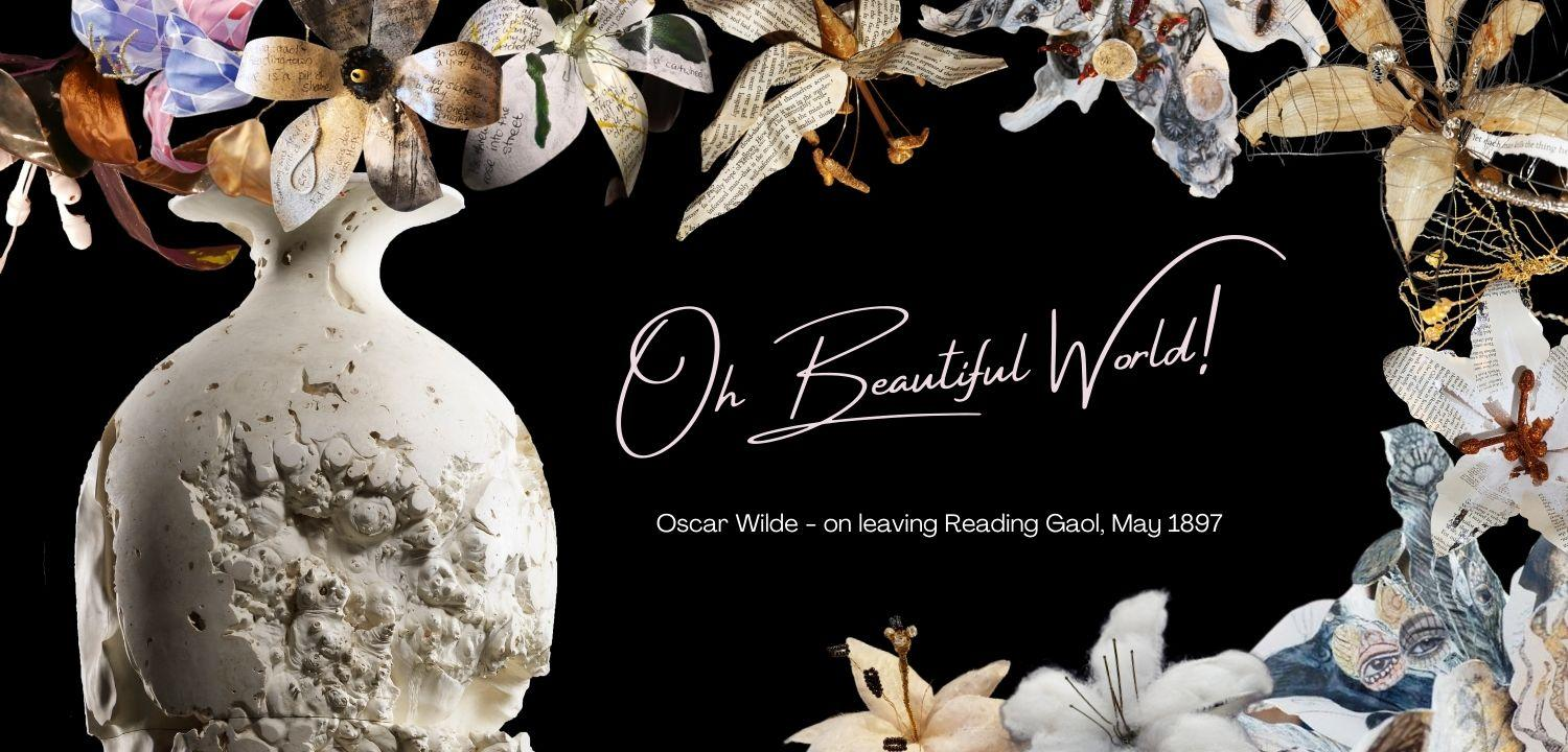 A header image for Oh Beautiful World, our latest online exhibition.