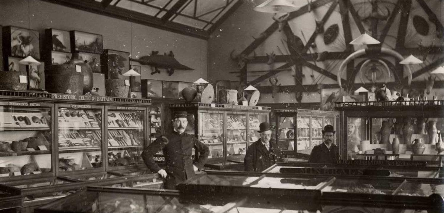Reading Museum Gallery 1 in 1903