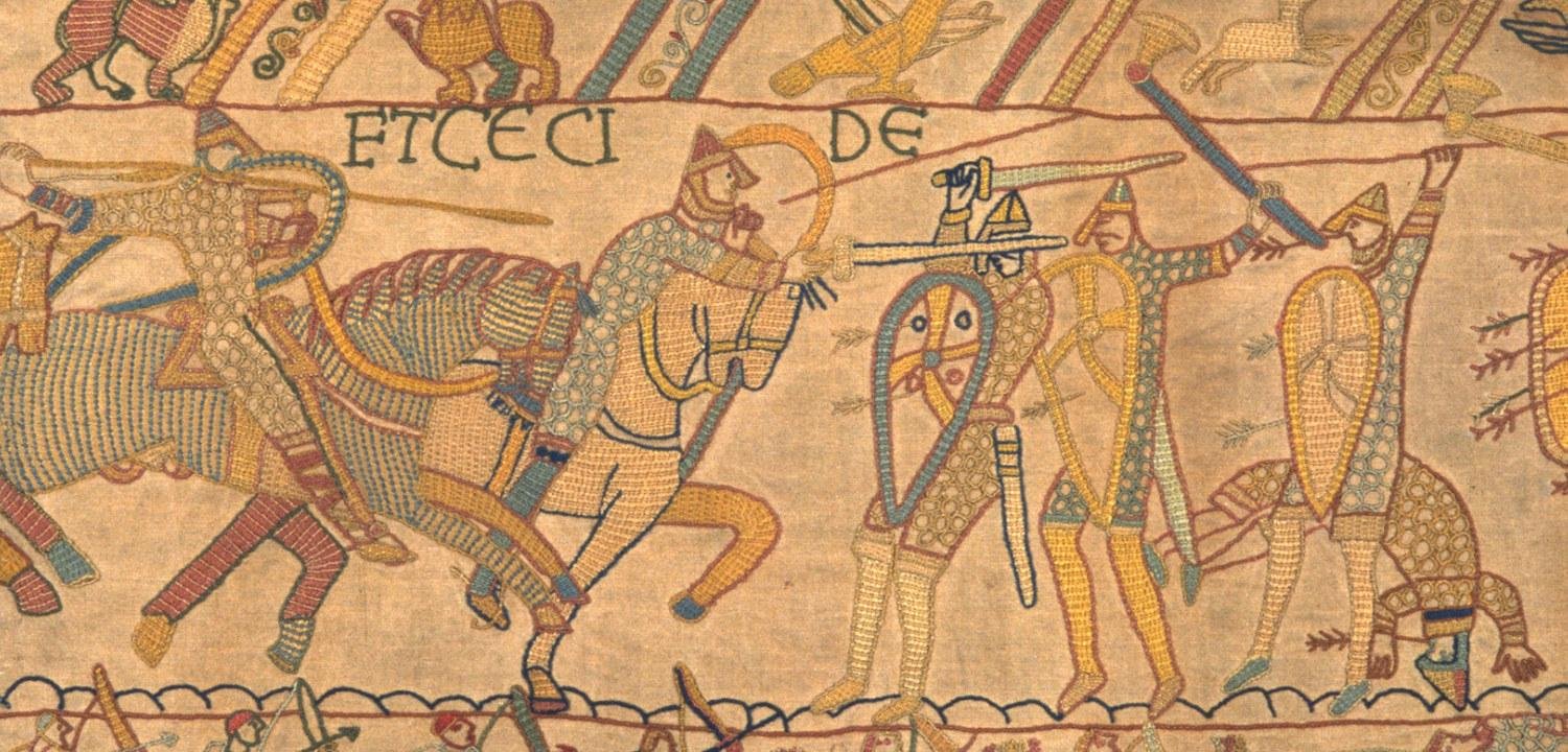 Bayeux Tapestry hero image.