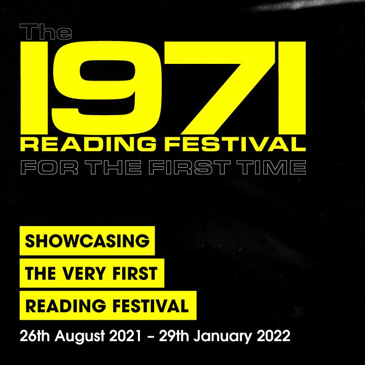 The hero image for The 1971 READING FESTIVAL: For the First Time.