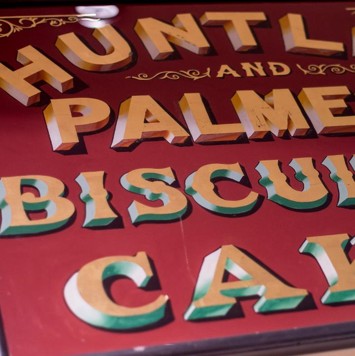 Huntley and Palmers advertisment