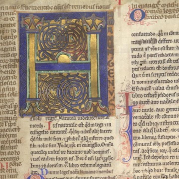 Gratian's Decretum copyright British Library