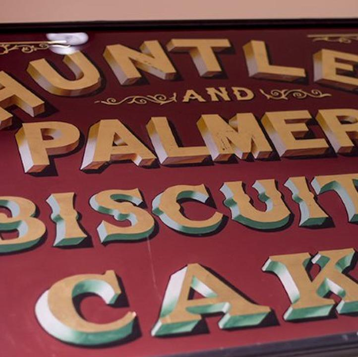 Huntley & Palmers sign