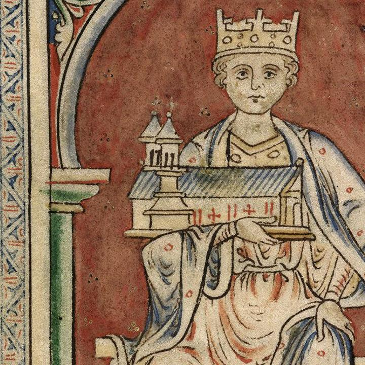 Henry I holding Reading Abbey
