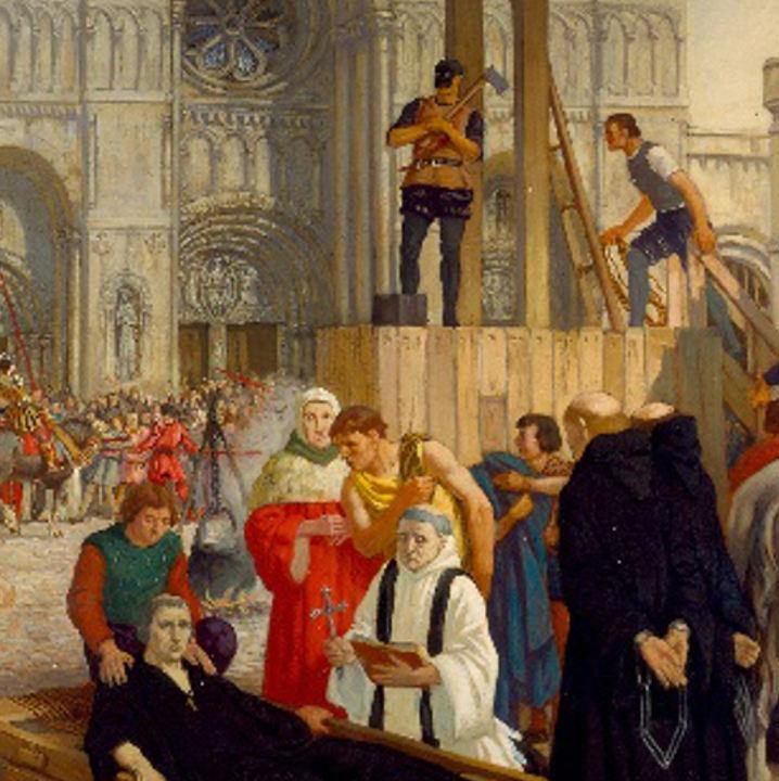 Abbot Hugh Faringdon's Execution