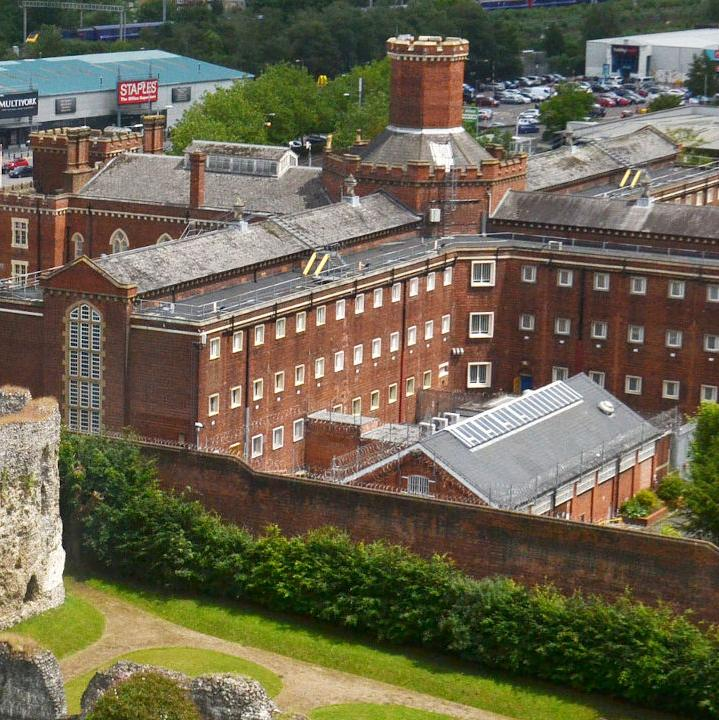 Reading Prison and Reading Abbey Ruins