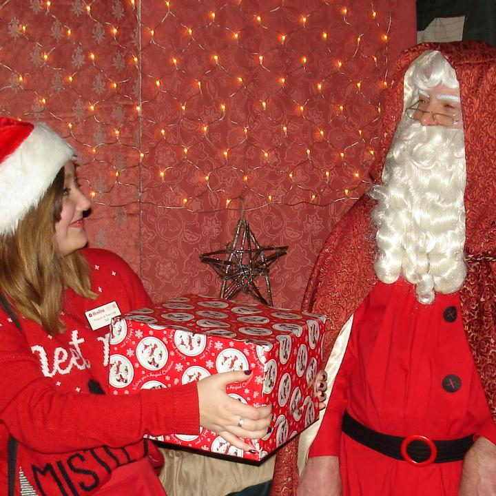 Santa at Reading Museum
