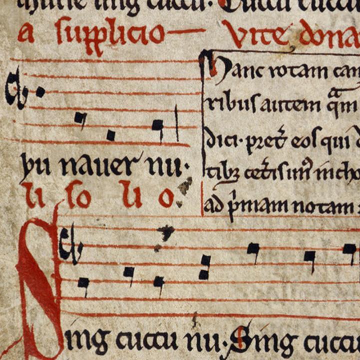Manuscript of Sumer is Icumen In