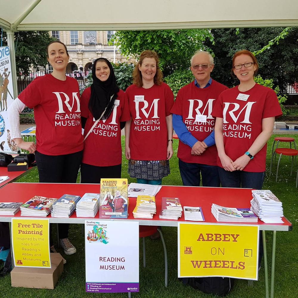 Abbey on Wheels set up at Forbury Fiesta 2018
