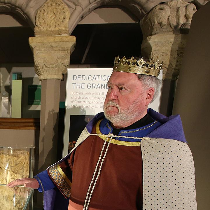 King Henry I in the Story of Reading Gallery