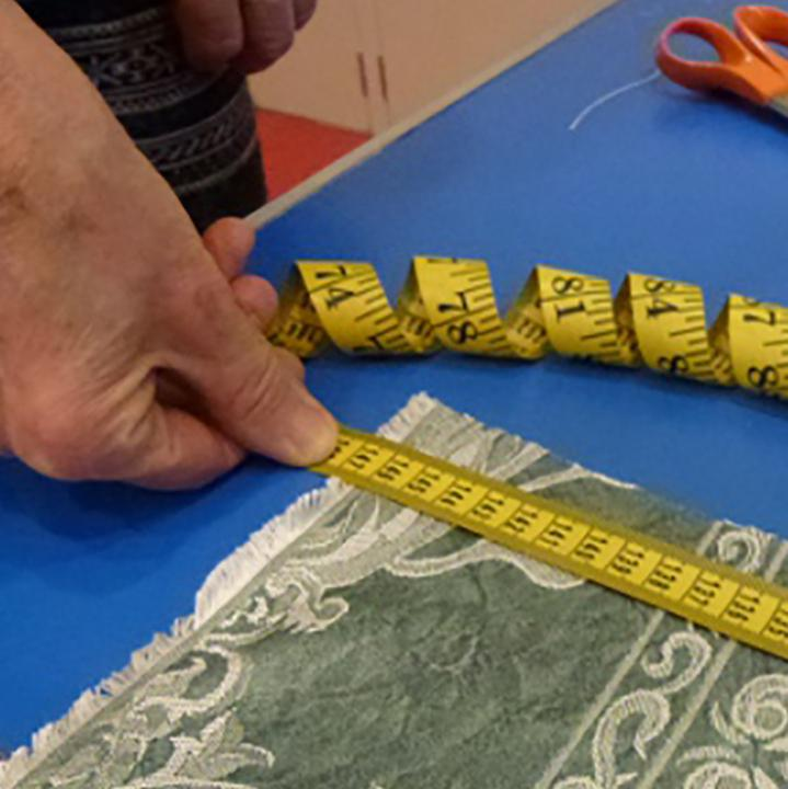 measuring fabric