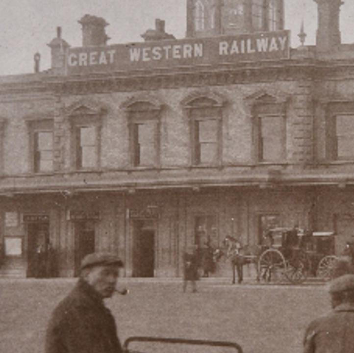 Reading Station in about 1900